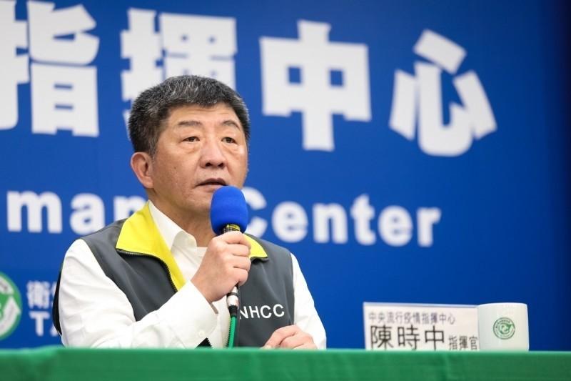中央流行疫情指揮中心指揮官陳時中說「沒有虧待人」。(指揮中心提供)