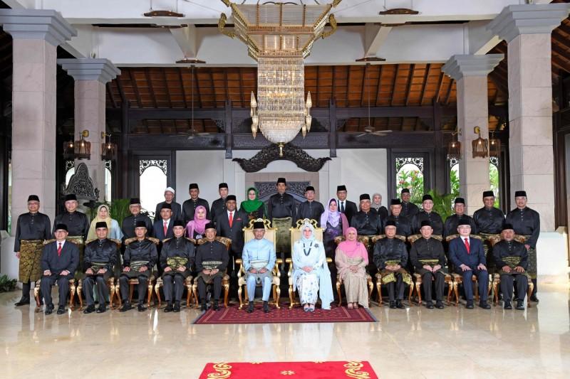 馬來西亞蘇丹阿布都拉伉儷從昨天起已接受自我隔離14天。(歐新社檔案照)