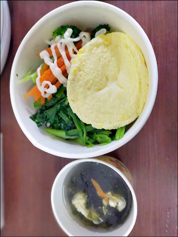 縣府請送餐業者提供無麩質飲食。(花蓮衛生局提供)