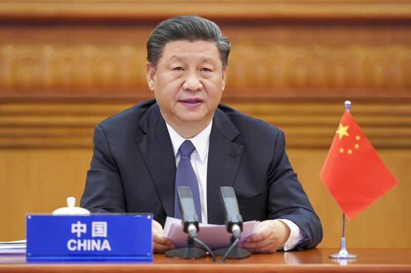 中國領導人習近平上任後,在該國內大力推動習思想,並革除一切反動勢力。(美聯社)