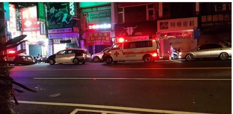 八德發生警方查緝酒駕男,開槍造成女性乘客死亡慘劇。(記者謝武雄翻攝)