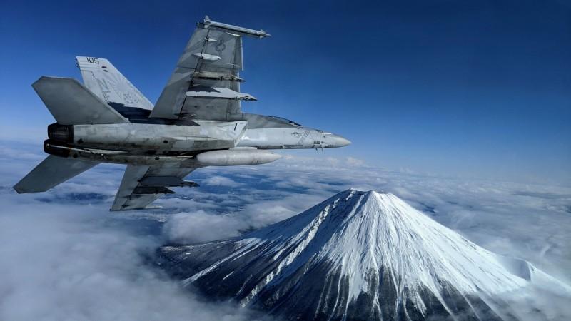 德國計畫分批採購戰機強化空軍戰力。圖為F/A-18F超級大黃蜂。(路透)