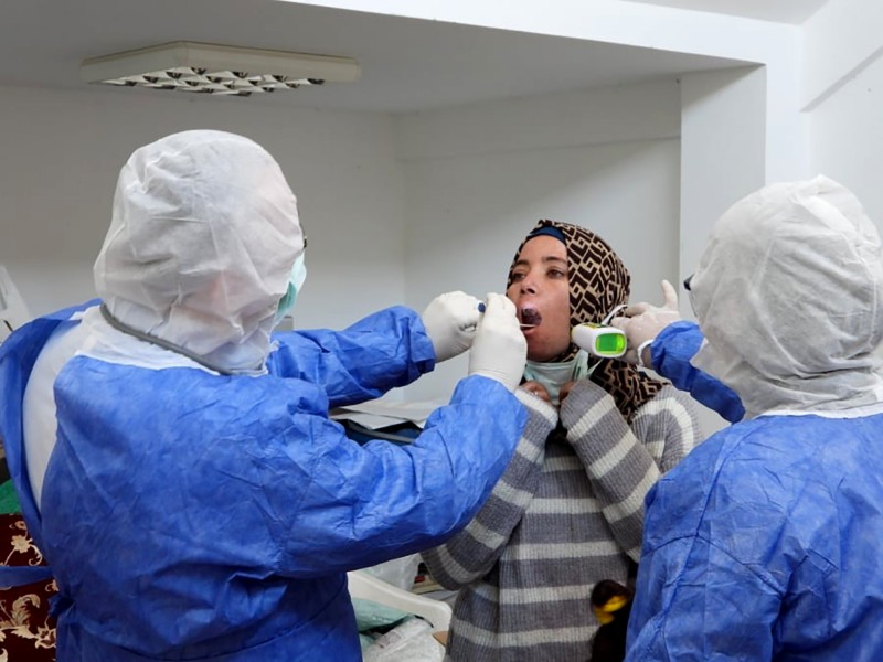 捷克和西班牙陸續表示中國製的快篩試劑組錯誤率過高後,土耳其政府也稱中國生產的快篩試劑組正確率僅30%至35%,土耳其決定放棄使用。(法新社資料照)