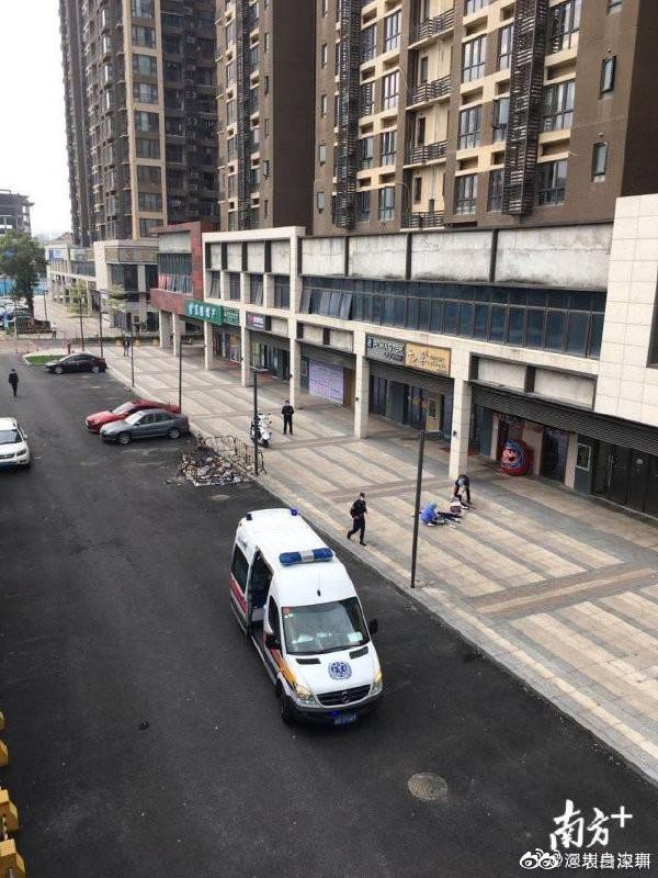 當地警方獲報趕往現場做初步調查。(圖取自微博)