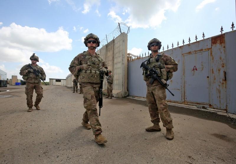 以美國為首的國際聯軍週日(29日)開始撤出伊拉克北部基爾庫克(Kirkuk)的K-1軍事基地,為聯軍本月撤兵的第3個地點,圖為K-1空軍基地。(法新社)