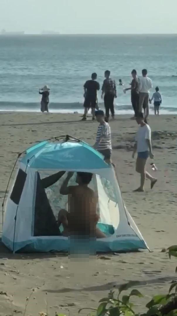 曝光光!漁光島帳篷活春宮女主角被目擊沙灘上大方全裸- 社會- 自由時報 ...