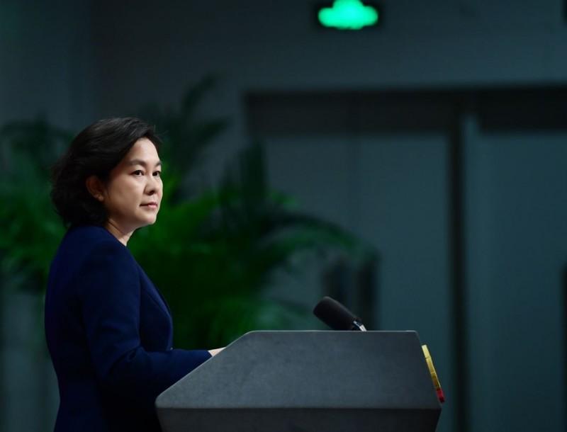 中國外交部發言人華春瑩認為,在武漢肺炎疫情處理問題上,唯一有資格批評中國的只有世界衛生組織(WHO)。(圖取自微博)
