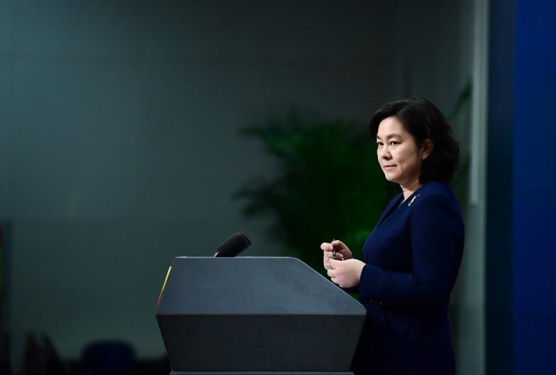 中國外交部發言人華春瑩表示,只有主權國家能夠參加世界衛生組織。(圖取自中國外交部發言人推特)