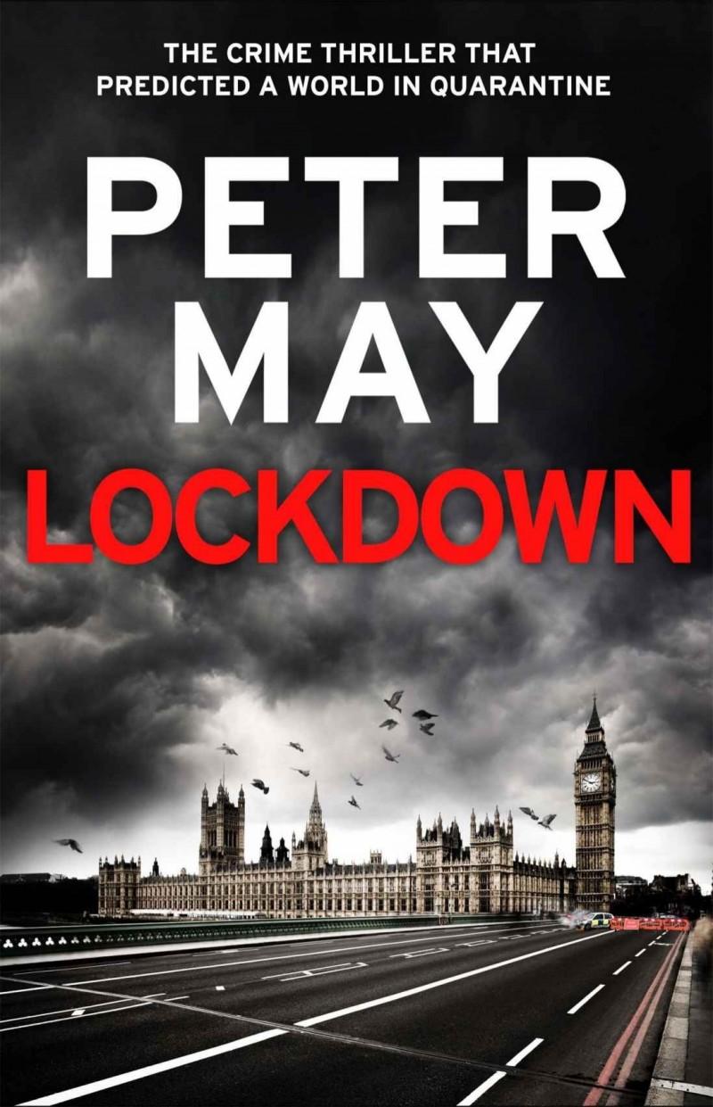 蘇格蘭作家彼得‧梅(Peter May)15年前寫了一本有關疫情全球大流行的小說《封鎖》(Lockdown,暫譯),當時出版社認為和現實相差太遠拒絕出版,沒想到隨著武漢肺炎疫情擴散全球,這本書又被挖出來並販售。(圖擷自英國Amazon網站)