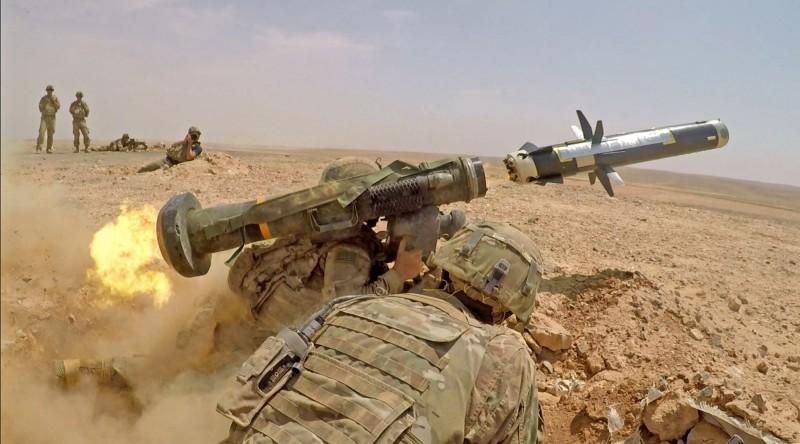 標槍飛彈有「坦克殺手」之稱,是我國重要防衛武器之一。(歐新社)
