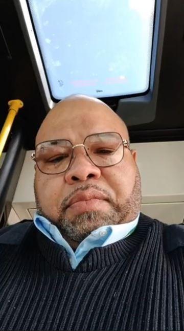 已故底特律公車司機哈格羅夫。(擷取自臉書)
