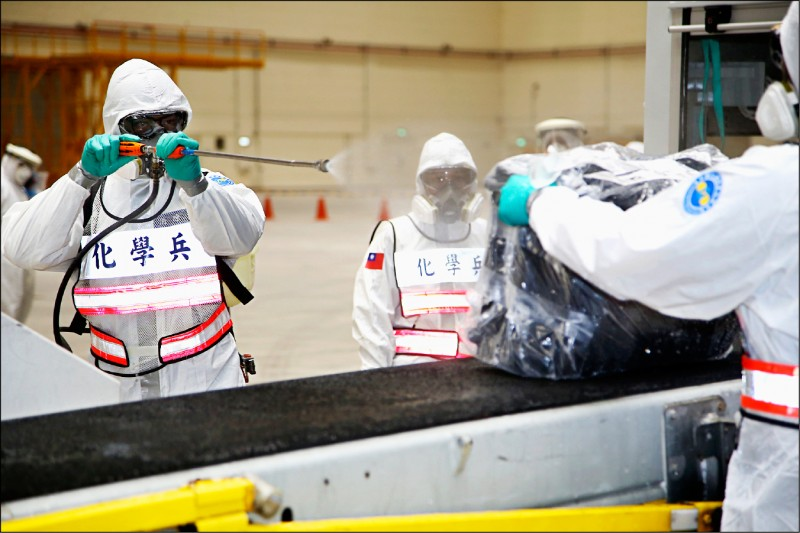 CNN五日報導台灣抗疫應對是世界頂尖,讚揚從台灣表現足以見得,民主國家不用嚴格封鎖,一樣能控制疫情。(資料照,國防部提供)