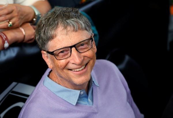 微軟創辦人比爾蓋茲接受美國《福斯新聞》專訪時,公開讚揚台灣防疫工作是榜樣。(路透檔案照)