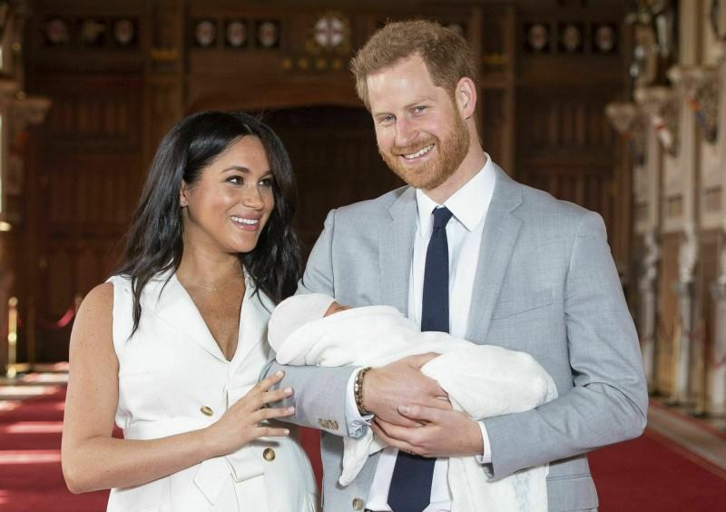 英國哈利王子和妻子梅根宣布,將成立一個新的慈善機構「Archewell」。(美聯社資料照)