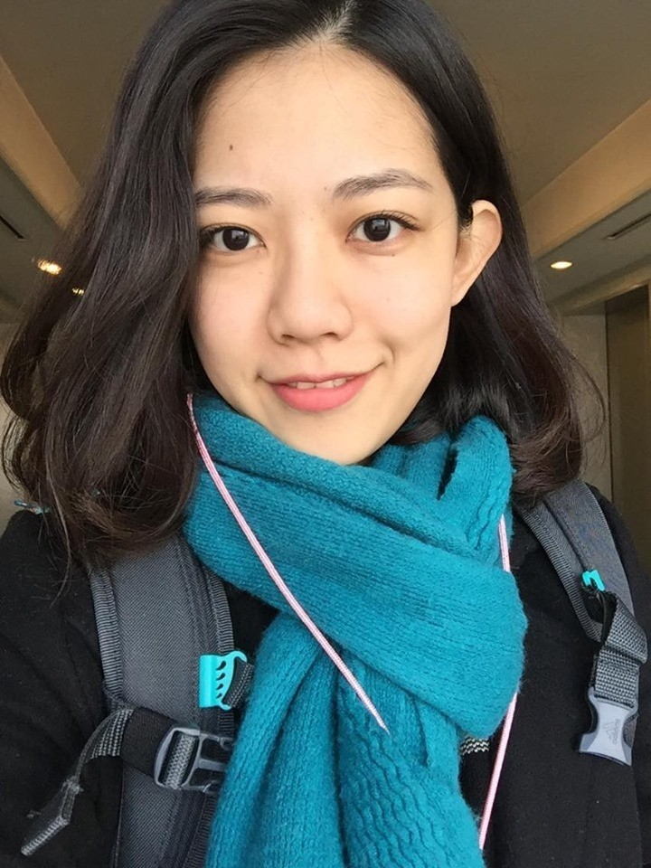 楊凱婷榮登全國營養師專技高考榜首。(記者洪定宏翻攝)