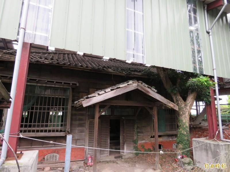 淡水台銀日式宿舍位於淡水中正路235號河畔,原為台灣銀行淡水支店長的職務宿舍。(記者陳心瑜攝)
