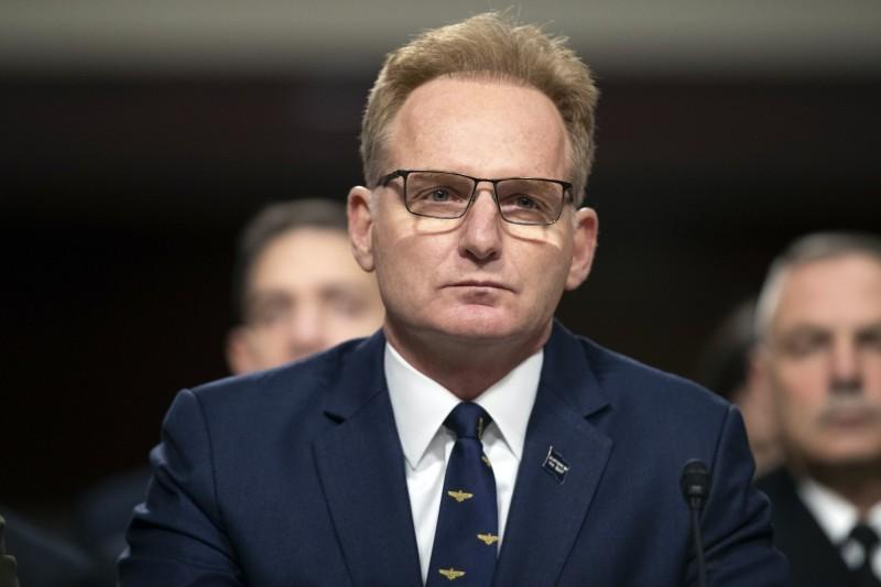 美代理海軍部長莫德里(Thomas Modly)今日請辭獲准。(美聯社)