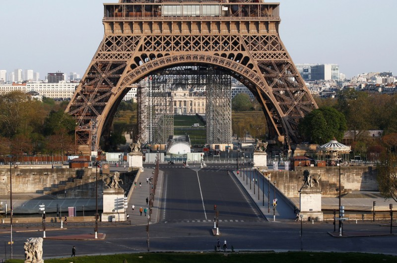《世界報》報導指出,法國的「0號病人」其實早在1月初就出現,且這名患者與中國有關係。(路透)