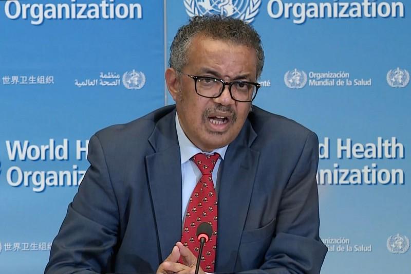 世界衛生組織(WHO)秘書長譚德塞(Tedros Adhanom Ghebreyesus)8日說,他過去3個月致力在防疫武漢肺炎大流行時,受到了死亡威脅和種族主義侮辱,而這些攻擊來自台灣。(法新社)
