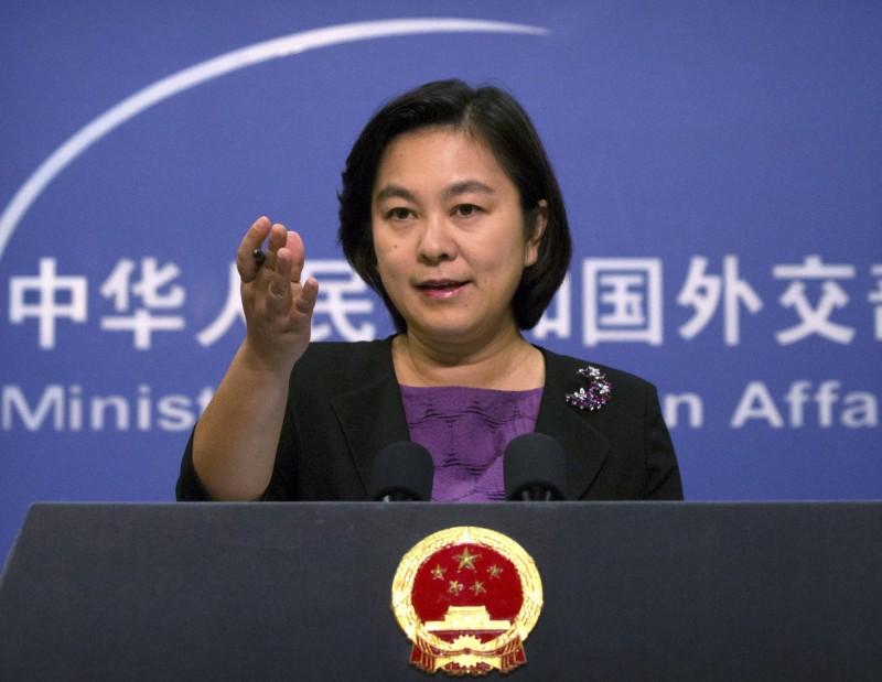 華春瑩回擊美國國務院發言人,稱「歡迎到中國享受自由」。(美聯社)