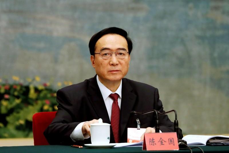 紀錄片指出,中共政權利用最新的監控技術進行令人髮指的鎮壓,而一切的幕後指揮者,即是被稱為「西藏的和平締造者」而赫赫有名的新疆黨委書記陳全國(見圖)。(路透)