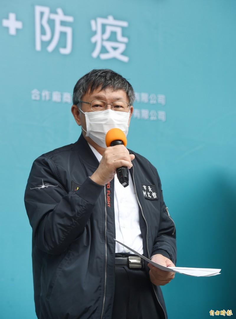 台北農產運銷公司前總經理吳音寧的父親、作家吳晟日前出版新書「北農風雲-滿城盡是政治秀」,批評台北市長柯文哲,柯文哲今回應,這2018選舉都過去了,不用講太多。(記者方賓照攝)