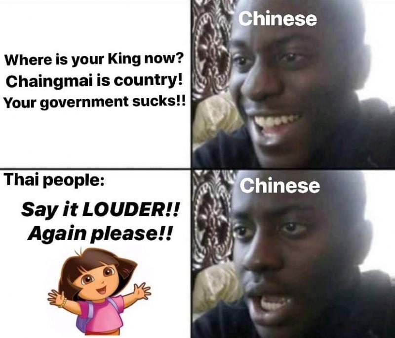 泰国网友大战中国小粉红 这场架吵的荒腔走板…
