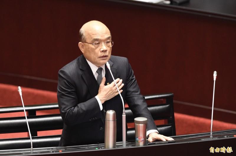 行政院長蘇貞昌拍板核定國家級「防疫中心」40億元興建計劃,未來將在台北市南港成立「防疫中心」。(資料照)