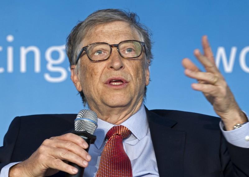 微軟創辦人比爾.蓋茲(Bill Gates)5日接受「週日福斯新聞」訪問公開讚揚台灣是防疫榜樣。(美聯社)