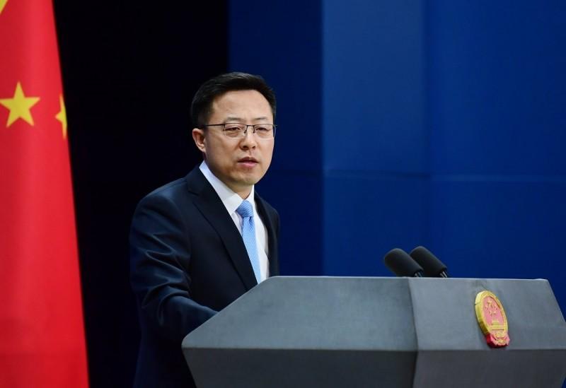 趙立堅(見圖)不能接受日本媒體指控武漢肺炎是中國政府造成的人禍,向《讀賣新聞》嚴正交涉。(圖取自中國外交部發言人推特)