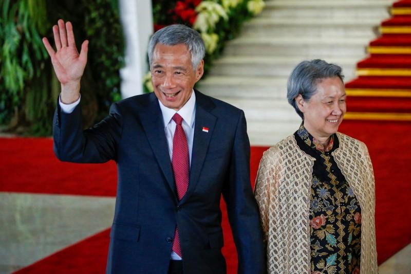 新加坡總理夫人何晶11日在臉書上謎樣回應「呃」,引發熱議。何晶今天更新文章表示,感謝所有的台灣朋友,「請知道我永遠感激你們」。(路透檔案照)