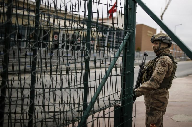 為防堵武漢肺炎擴散,土耳其通過法案,將釋放約4.5萬名囚犯。圖為土耳其監獄示意圖。(美聯社)