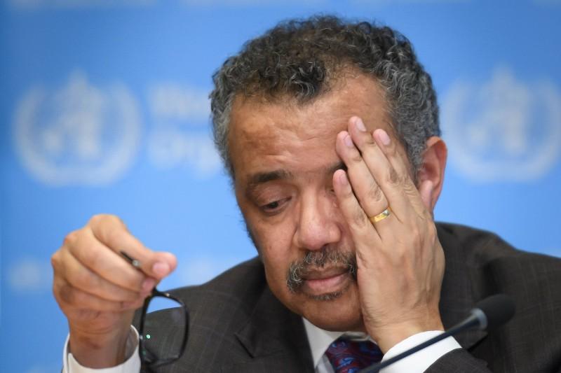 台灣大學政治學系名譽教授明居正14日爆出,WHO秘書長譚德塞(見圖)具有共產黨背景,是衣索比亞「提格雷人民解放陣線」的重要成員,港媒也報導指出,該政黨在90年代曾被美國政府列為恐怖組織。(資料照,法新社)