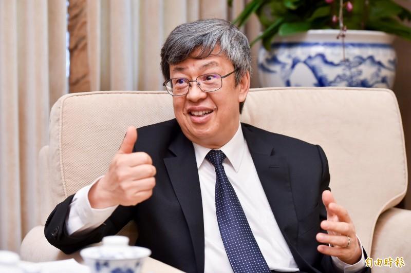歷經36天煎熬後出現零確診,陳建仁讚賞台灣在危機中展現了無比的堅強和慈悲。(資料照)