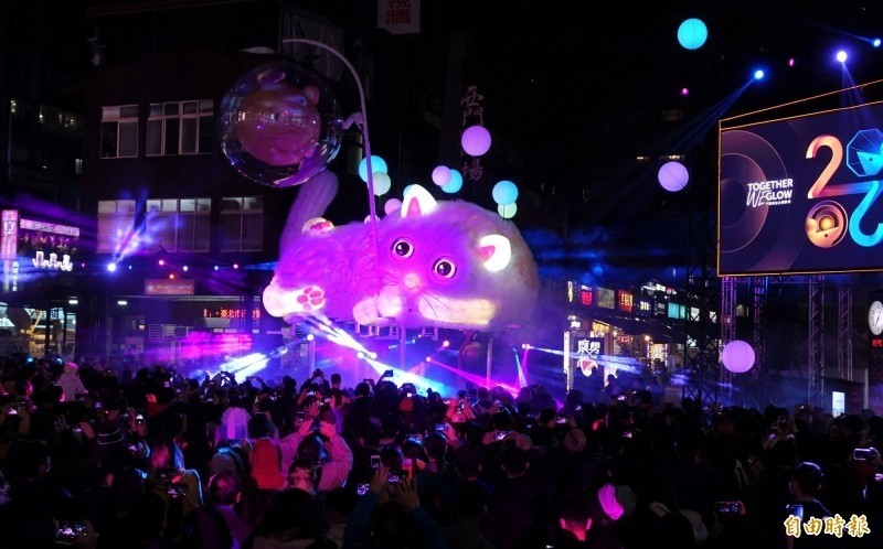 今年台北燈節因為疫情關係人次減少,2021年台北燈節選定在萬華舉辦。(資料照)