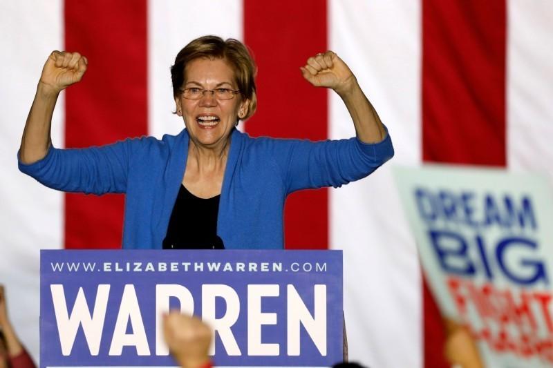 已退出美國民主黨總統初選的麻州聯邦參議員華倫(Elizabeth Warren)今天表示,若收到民主黨準總統提名人拜登的邀請,她願意擔任副手,一同搭檔參選。(法新社,資料照)