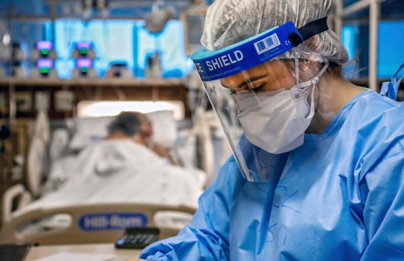 中國武漢爆發的新型冠狀病毒疾病(COVID-19,下稱武漢肺炎)疫情持續延燒。(法新社)