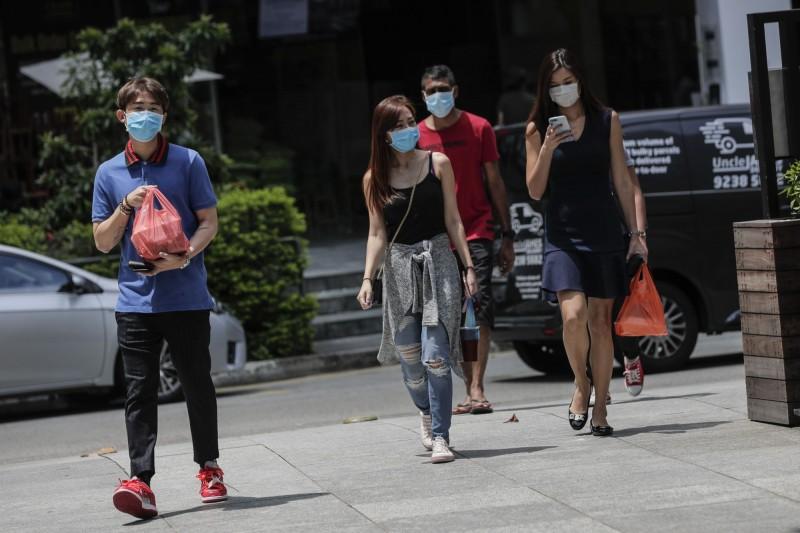 新加坡境15日新增447例確診,創該國疫情爆發以來單日最大增幅,確診總數也因此來到了3699例。(歐新社)