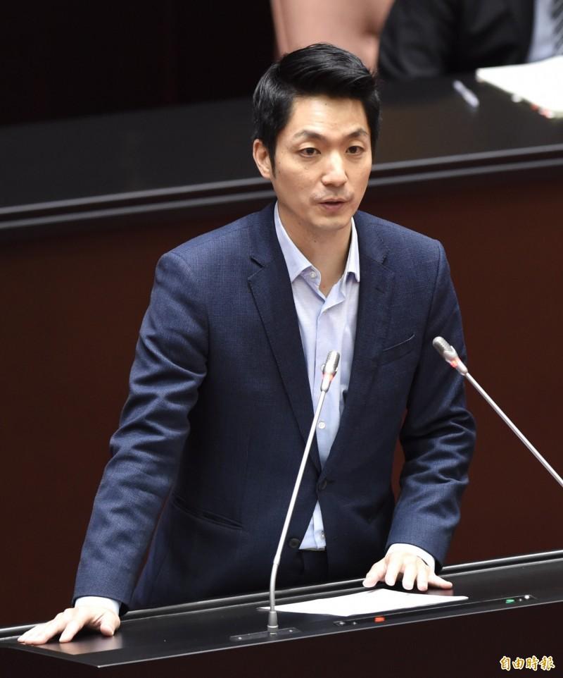 高雄市長韓國瑜罷免案成案,立法院國民黨團書記長蔣萬安(見圖)說,尊重司法判決,黨團將盡力協助高雄市政推動,來幫忙韓國瑜。(資料照)