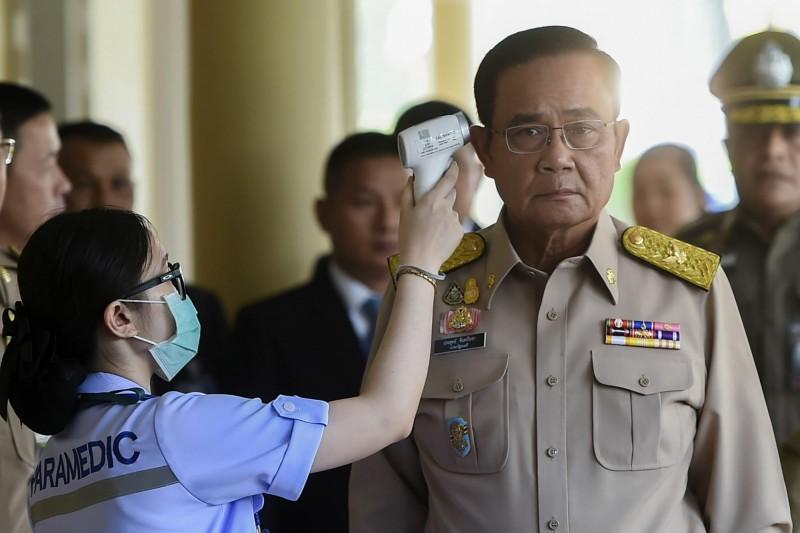 泰國總理帕拉育致函泰國前20大富豪,邀請加入對抗疫情的泰國國家隊。(美聯社)
