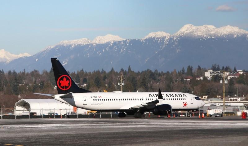 因中國機場管制嚴格,加拿大運輸班機在沒有載到貨品的情況下被迫離開。(路透)