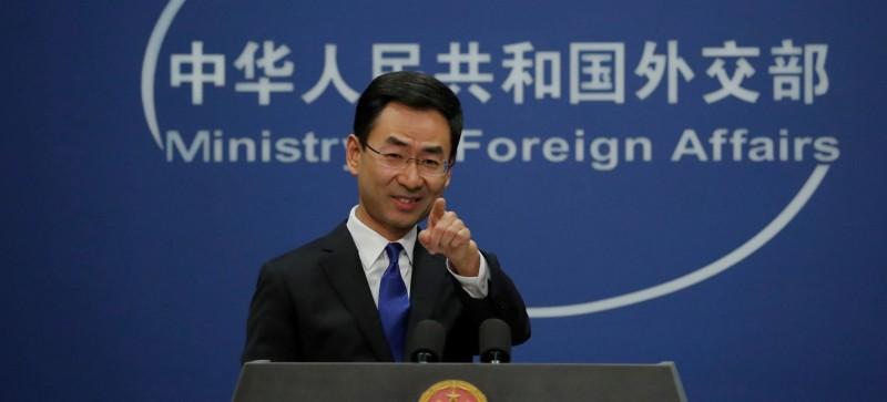 耿爽表示,關於加國防疫物資運輸專機空機而返,中方沒有限制貨機停留時間。(美聯社)