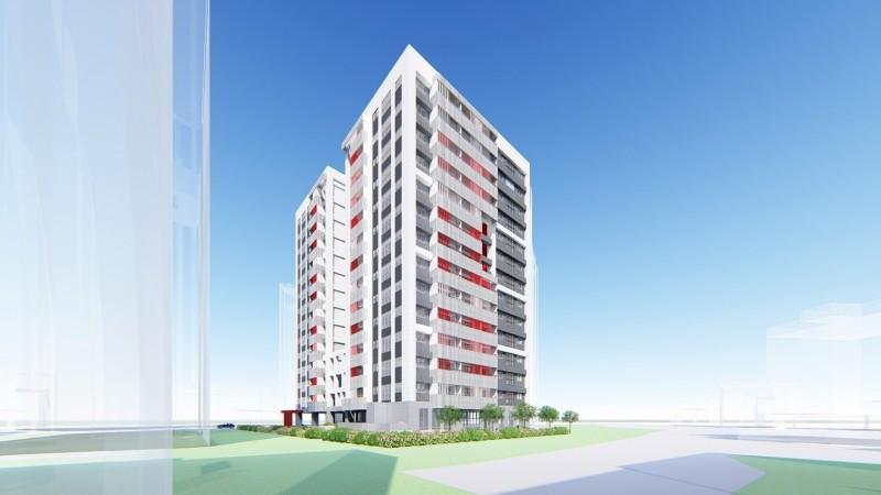 新北市政府規劃興建新店民安青年社會住宅,預計今年底動工,最快2023年完工。(圖由城鄉發展局提供)