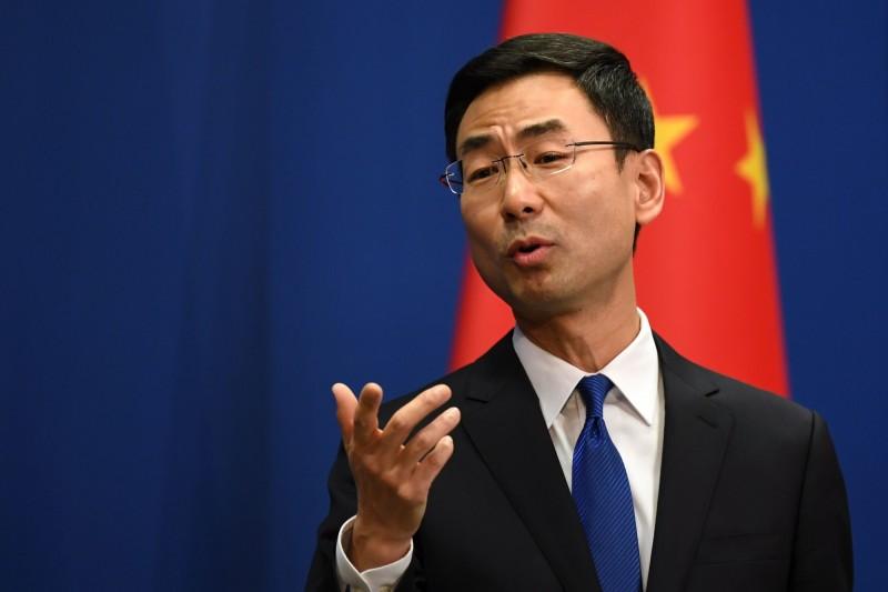 中國外交部發言人耿爽(見圖)表示,中國已經立法禁止非法野生動物交易。(法新社檔案照)
