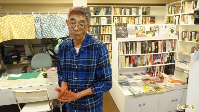台灣銅鑼灣書店明天上午開業,警方將派人力維護現場安全。(記者叢昌瑾攝)