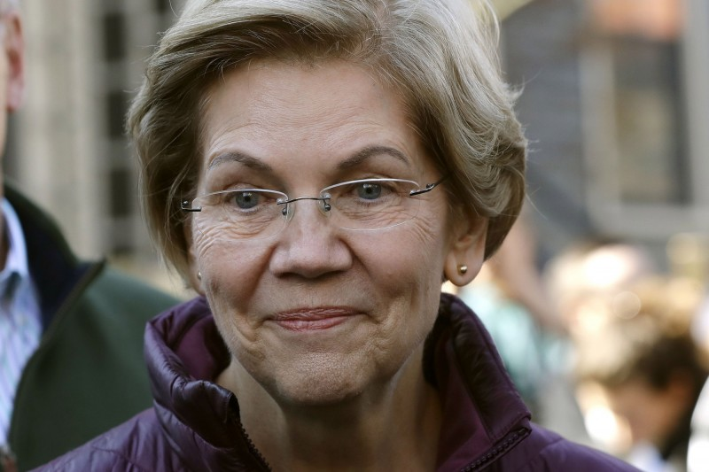 美國麻薩諸塞州參議員華倫(Elizabeth Warren)。(美聯社)