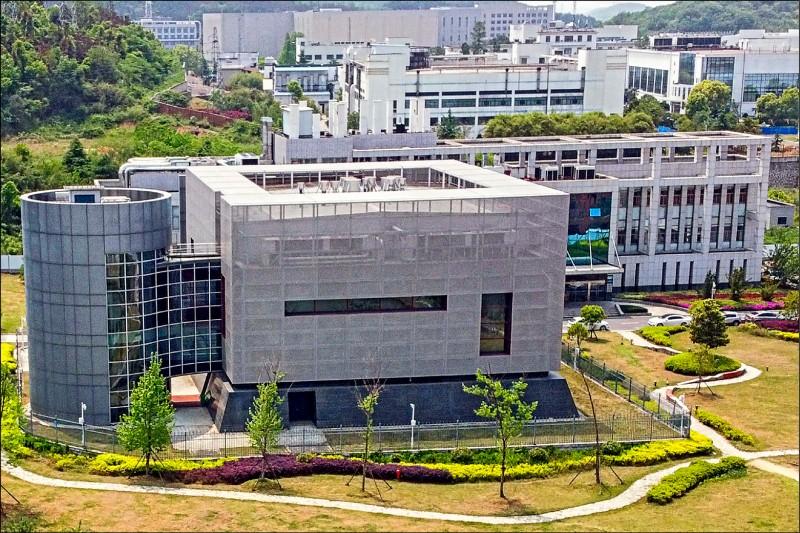 中國科學院武漢國家生物安全實驗室(簡稱P4實驗室),法國協助籌畫,卻遭中國邊緣化。(法新社檔案照)