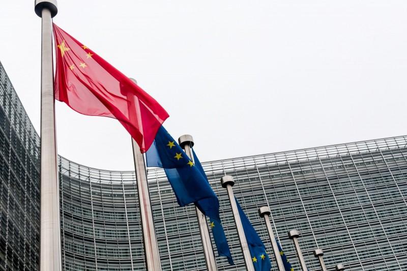 歐盟曾打算發布一份報告,指責中國正在傳播有關新型冠狀病毒的假新聞,卻隨即遭到中方施壓。(彭博)