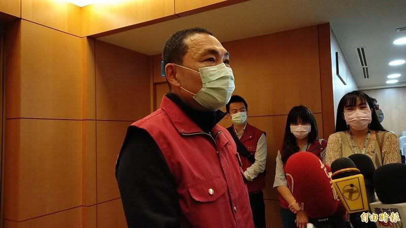 針對台北市錢櫃KTV發生大火,新北市長侯友宜下令加強各封閉式娛樂場所安檢和臨檢。 (資料照,記者賴筱桐攝)