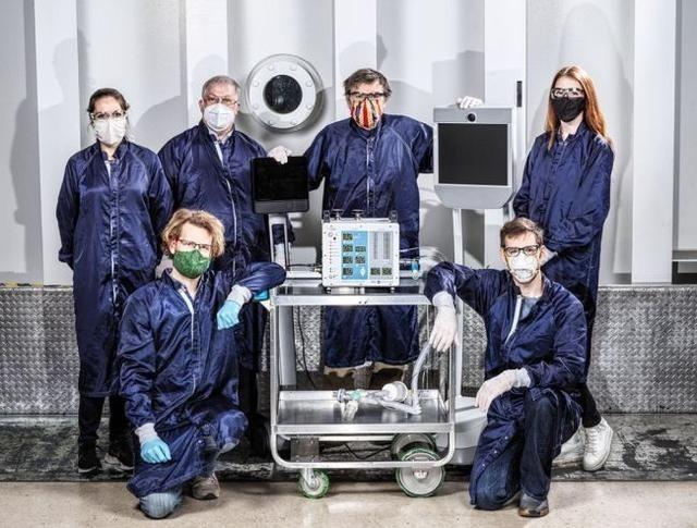美國目前傳統呼吸器的供應短缺問題,NASA科學家介入了這一領域。(翻攝自NASA官網)